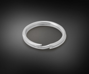 Fine Round Split Ring