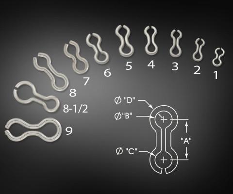 Figure 8 Hook Hangers | Crankbait Wire Hangers