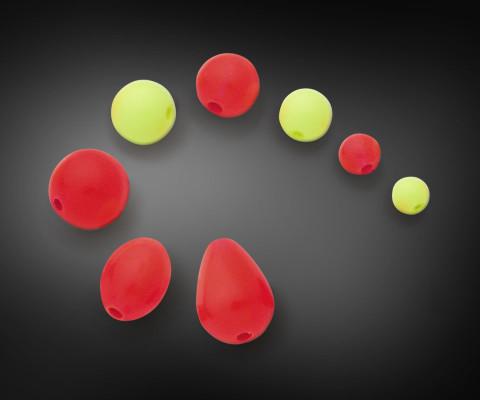 flourescent plastic beads for fishing